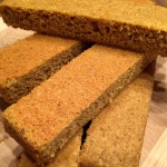 Golden Flaxseed Bread http://www.thescratchartist.com/