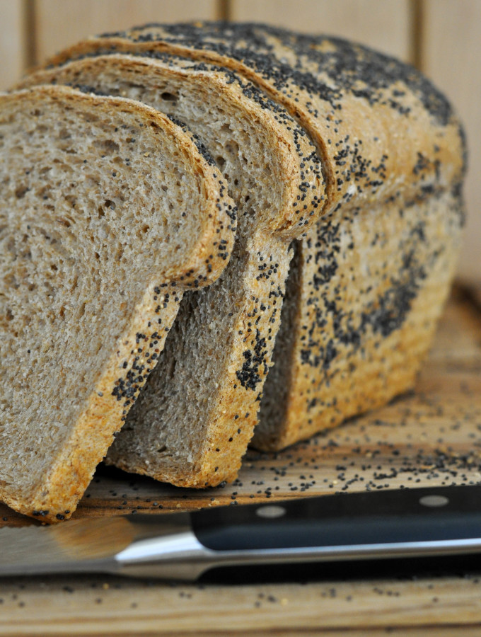 Whole Grain Amaranth Bread