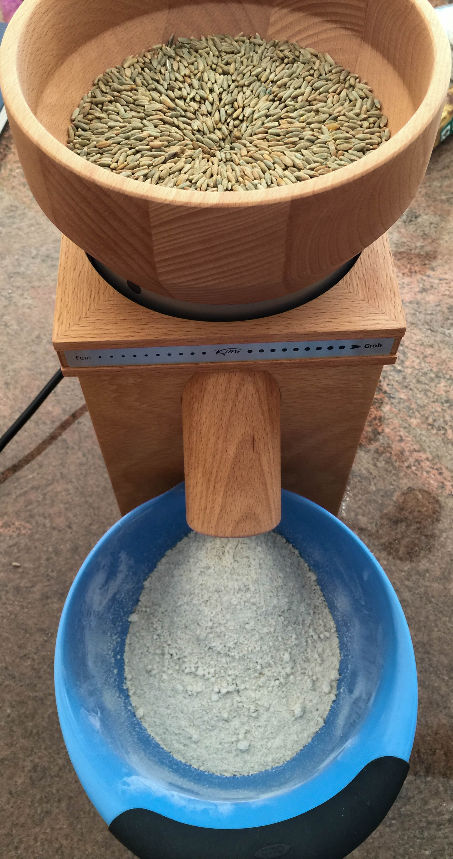 How to grind your own flour http://www.thescratchartist.com/