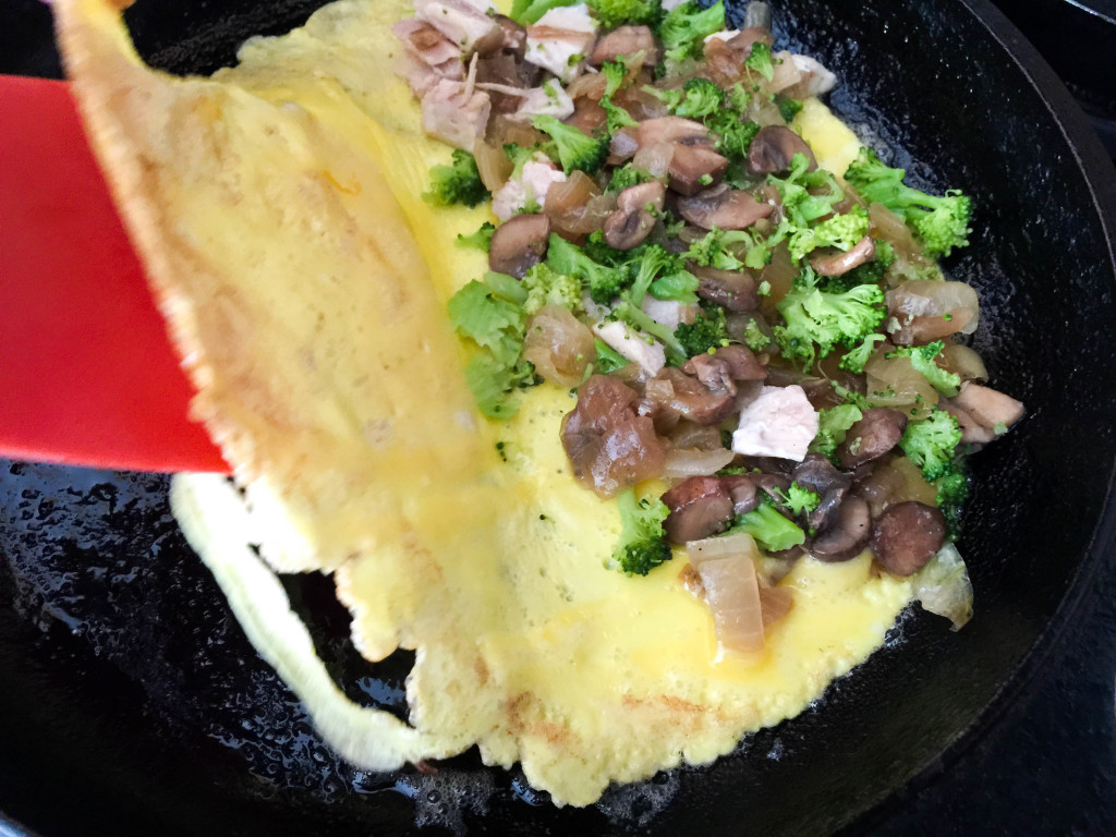 Perfect One Egg Omelet http://www.thescratchartist.com/