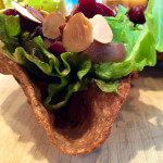 Tortilla Bowl Salad http://www.thescratchartist.com/
