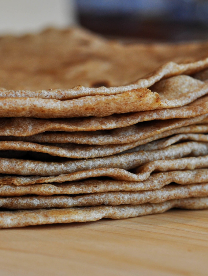 Whole Grain Tortillas http://www.thescratchartist.com/