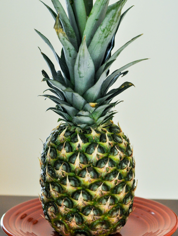 How to Cut a Pineapple like a Rock Star