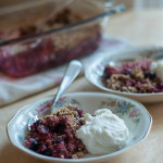 Mixed Berry Crumble Gluten Free - The Scratch Artist