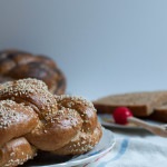Whole Grain Challah - Round Challah for Rosh Hashanah - The Scratch Artist