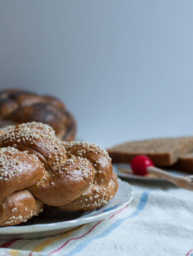 A Braided Tradition Whole Grain Challah – Happy New Year!