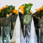 Japanese Pumpkin Temaki With Ginger Kale Chips - The Scratch Artist