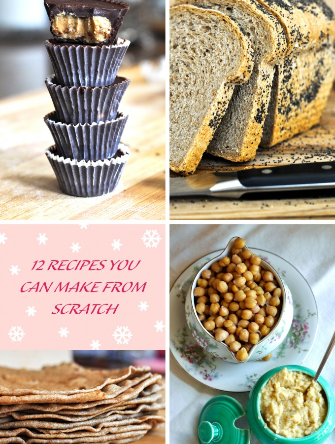 Recipe Roundup – Cooking & Baking from Scratch 101
