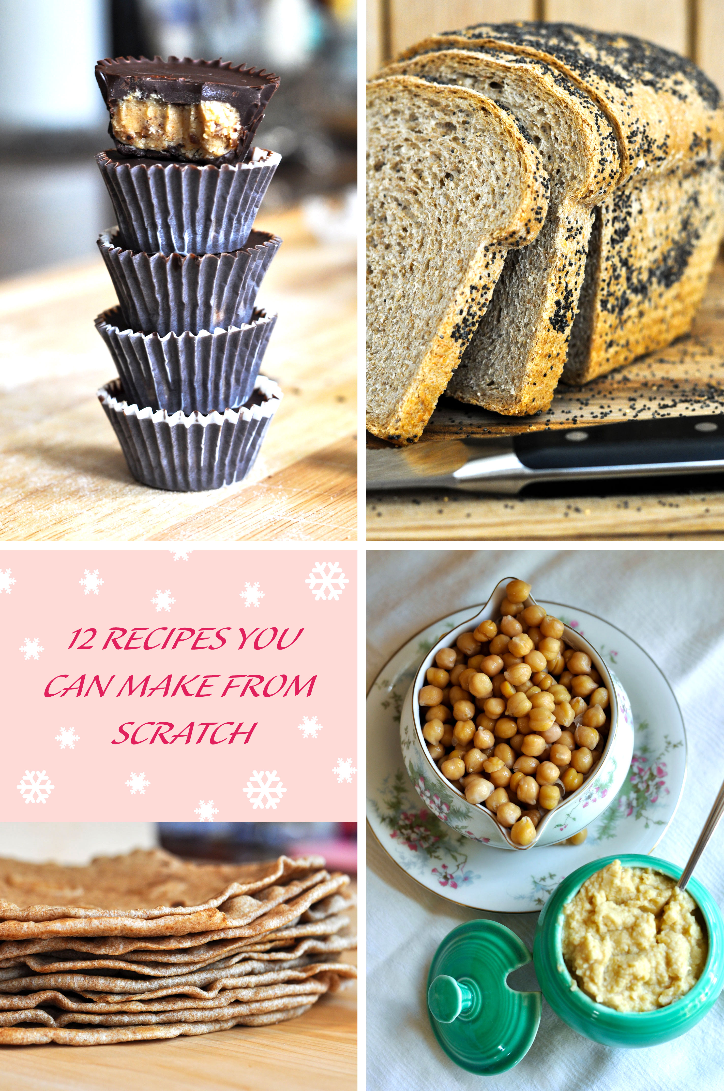 Recipe Round-up 12 Baking/Cooking From Scratch Recipes
