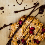 Chocolate & Peanut Butter Pomegranate Gluten Free Cookies - The Scratch Artist