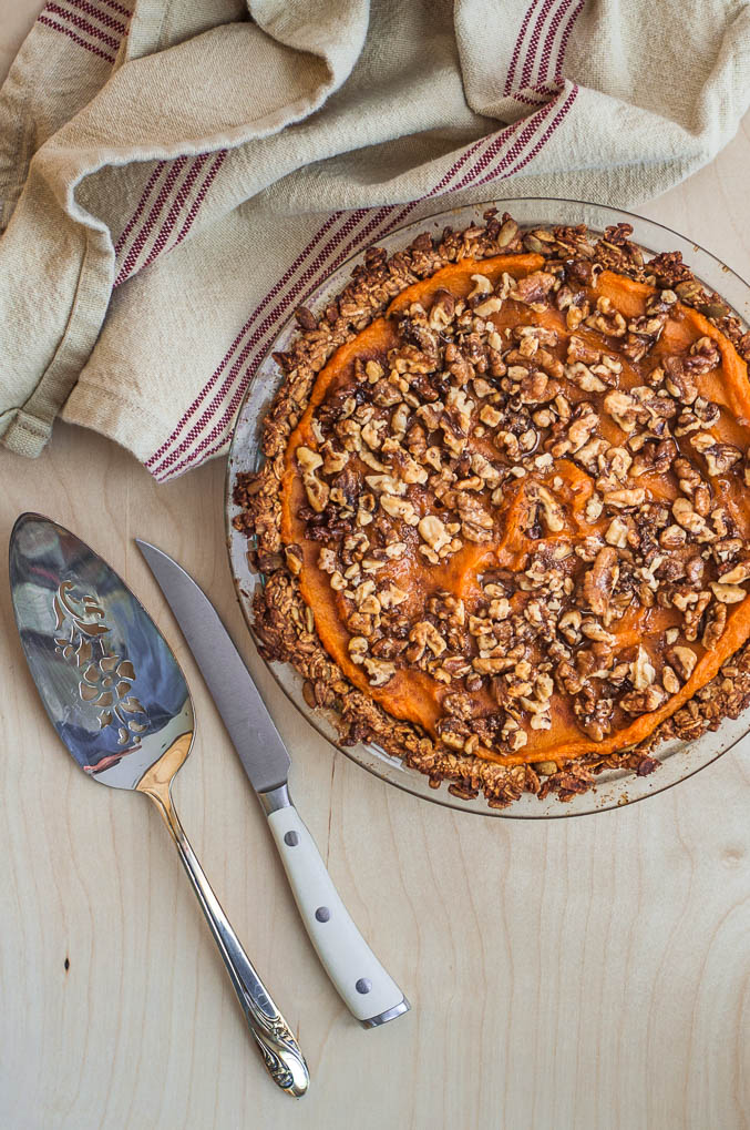 how to make sweet potato pie from scratch
